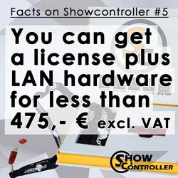 You can get a license plus LAN hardware for less than 475,- € excl. VAT