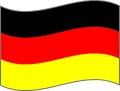 Deutsch Sprache Flagge