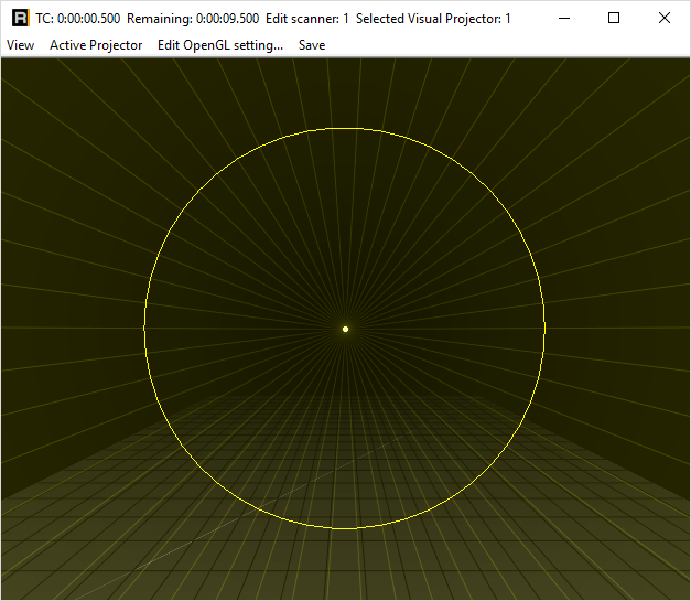opengl preview laserframe
