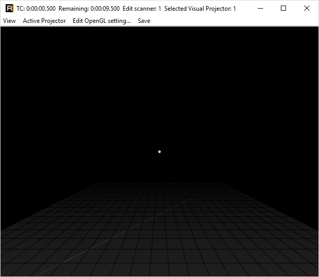opengl start preview